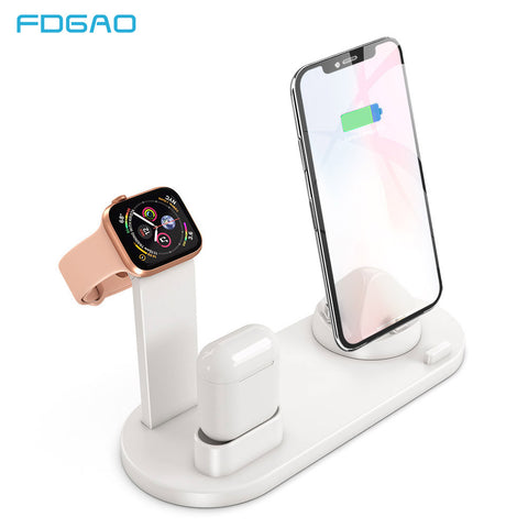 3 in 1 Charging Dock For iPhone X XR XS Max 8 7 Plus Apple Watch Airpods Charger Holder Mount