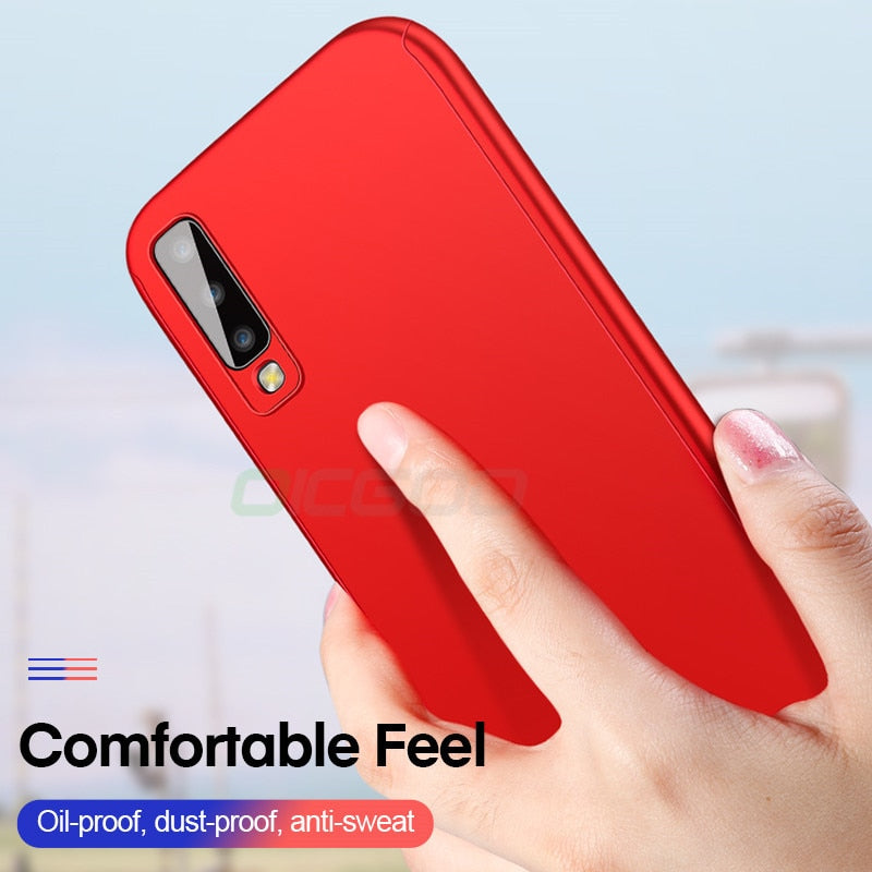 360 Degree Phone Case For Samsung Galaxy J4 J6 A6 A8 Plus J8 A7 2018 Full Cover Cases For Samsung A5