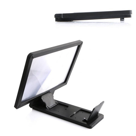 3D HD Movie Video Stand Phone Screen Magnifier Cellphone Projector Enlarged Amplifier Mobile Bracket Holder
