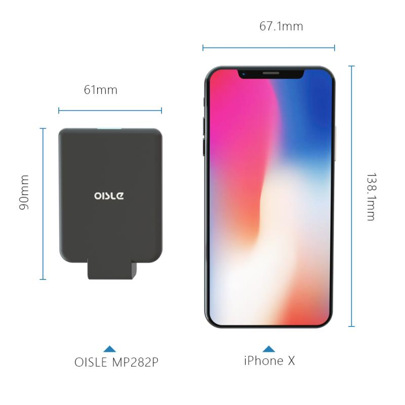 4500mAh Mini Portable Charger For iPhone X 7 8 6 6S Plus 5 5S SE XS MAX XR Slim Backup External
