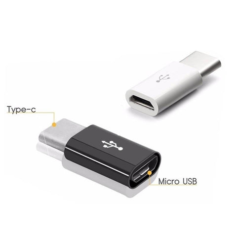 5PCS Micro USB To USB C Adapter Mobile Phone Adapter Microusb Connector