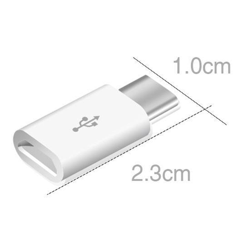5pcs/lot Micro USB Female to Type C Male Adapter for Xiaomi Mi 8 Redmi Note 7 Huawei P20 Lite