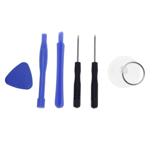 6 in 1 Mobile Phone Screen Opening Pry Repair Tool Kit Screwdriver Tool Sets for iPhone Samsung