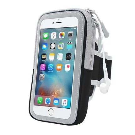 6 inch Bag For Phone On Hand Sports Running Armband Bag Case Cover Armbands Universal Mobile Phone