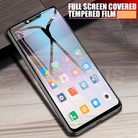 9D Tempered Glass on the For Xiaomi Redmi 7 6 Pro 6A 5 Plus S2 5A Note 5 5A 6 7 Pro Screen