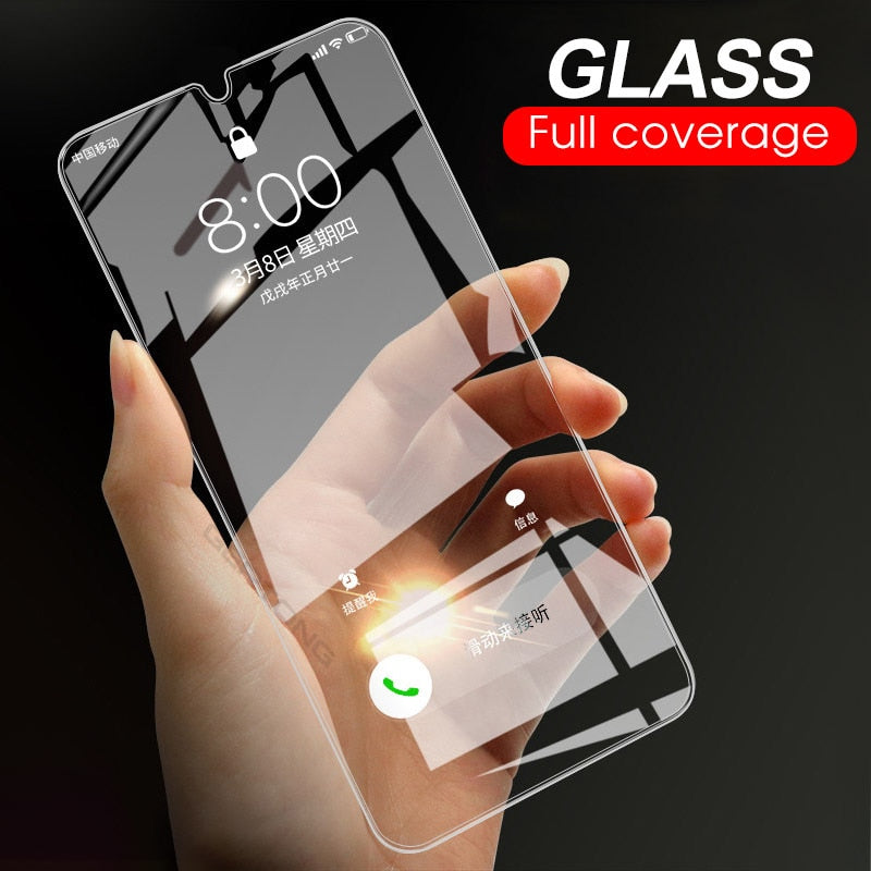 9H Tempered Glass For Samsung Galaxy A50 A30 M20 M30 A10 M10 A7 2018 A750 Transparent Cover Screen
