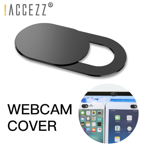 !ACCEZZ WebCam Cover Shutter Magnet Slider Plastic For iPhone Web Laptop PC