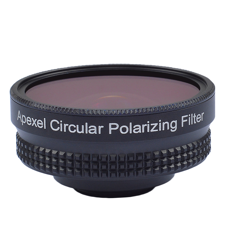APEXELProfessional 4K Wide lens circular polarizing Filter 16mm HD super wide angle lens for