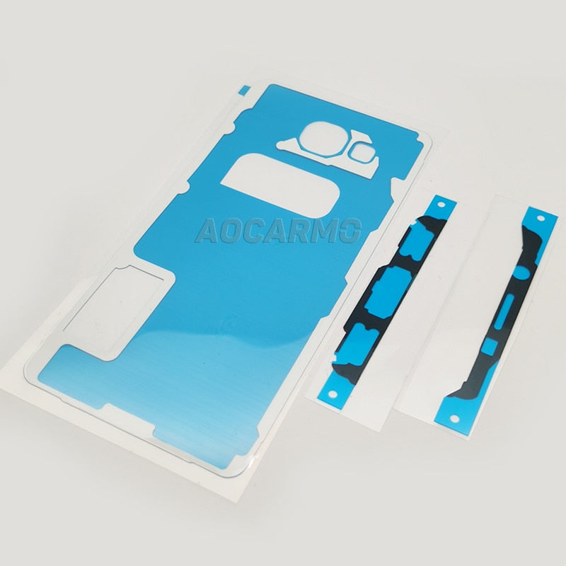 Aocarmo LCD Display Screen Back Battery Cover Waterproof Adhesive Sticker Glue Tape For Samsung