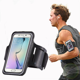 Arm band Holder Phone Cover For Samsung Galaxy S6 S7 Edge S8 S9 Plus S5 Sport Gym Armband Waterproof Bag For Samsung Note 7 8 9