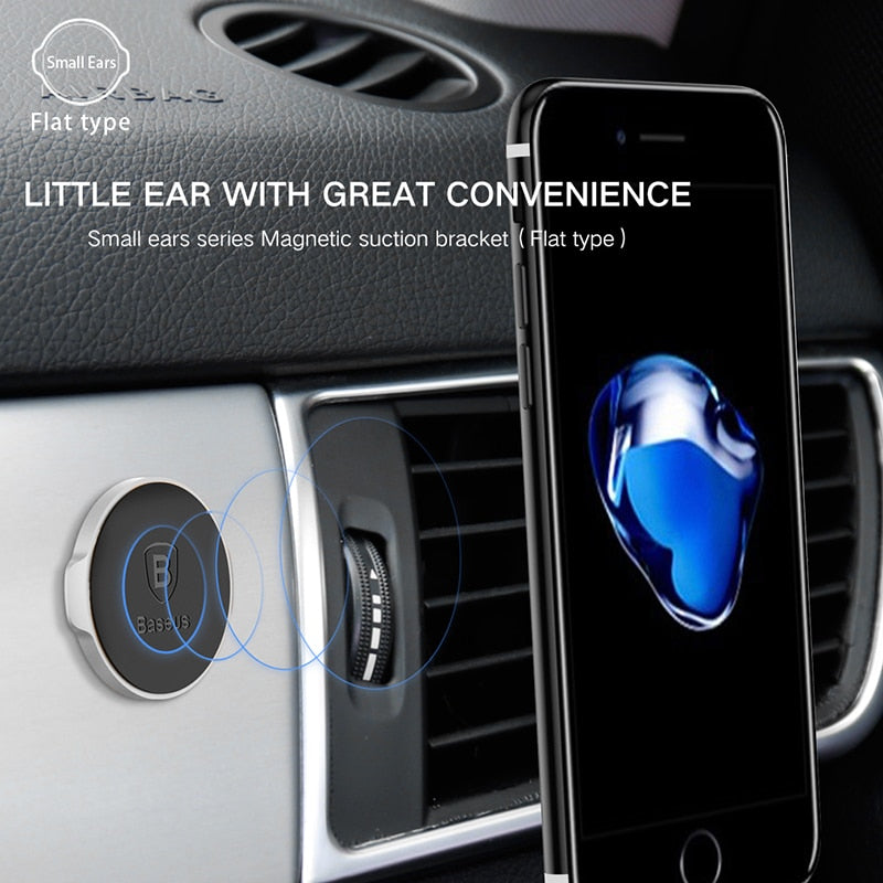 Baseus Magnetic Car Phone Holder Universal Magnet Holder in car Mobile Phone Holder Stand Mount