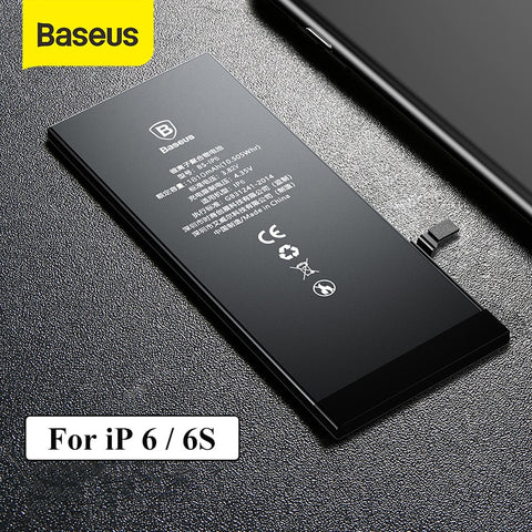 Baseus Phone Battery For iPhone 6 6S 2200mAh High Capacity Replacement Batteries For iPhone 6s