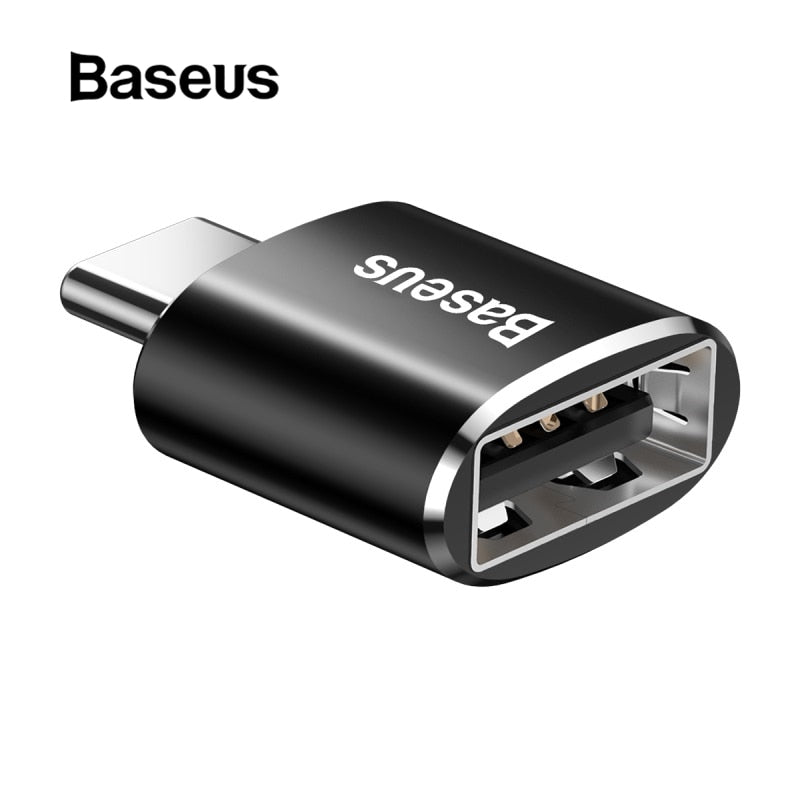 Baseus Type C Male to USB Female OTG Adapter Type-c OTG Converter Charger Plug Adapter Converter for