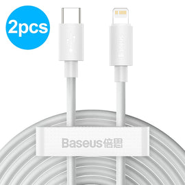 Baseus USB C Cable for iPhone 12 11 20W PD Fast Charge USB C to Lighting Cable