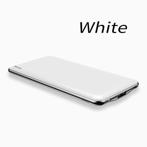 Baseus Ultra Thin 10000mAh Power Bank USB Type C PD Fast Charging Powerbank 10000mAh Portable