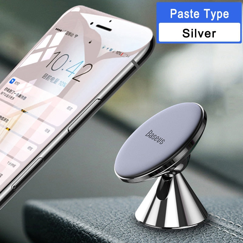 Baseus Universal Car Phone Holder 360 Degree GPS Magnetic Mobile Phone Holder For iPhone X 8 Samsung