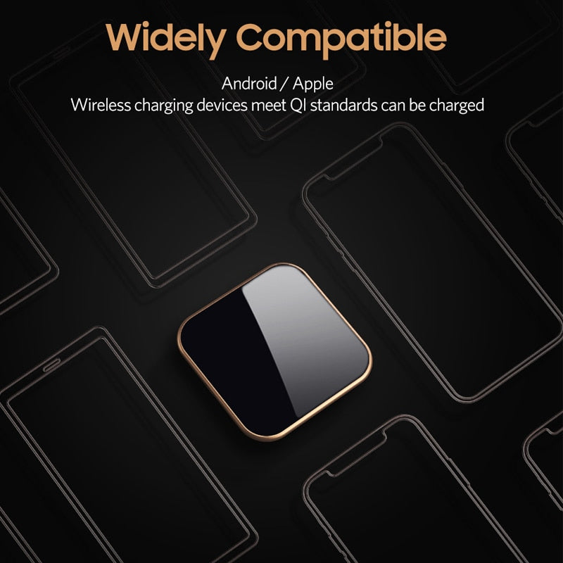 Benks W05 10W Fast Wireless Charging Qi Wireless Charger For iPhone Xs Max /Xr/ 8/8Plus AirPods