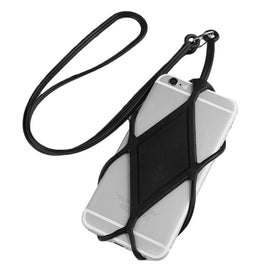 Universal Silicone Cell Phone Lanyard Holder Case Cover Phone Neck Strap Necklace Sling