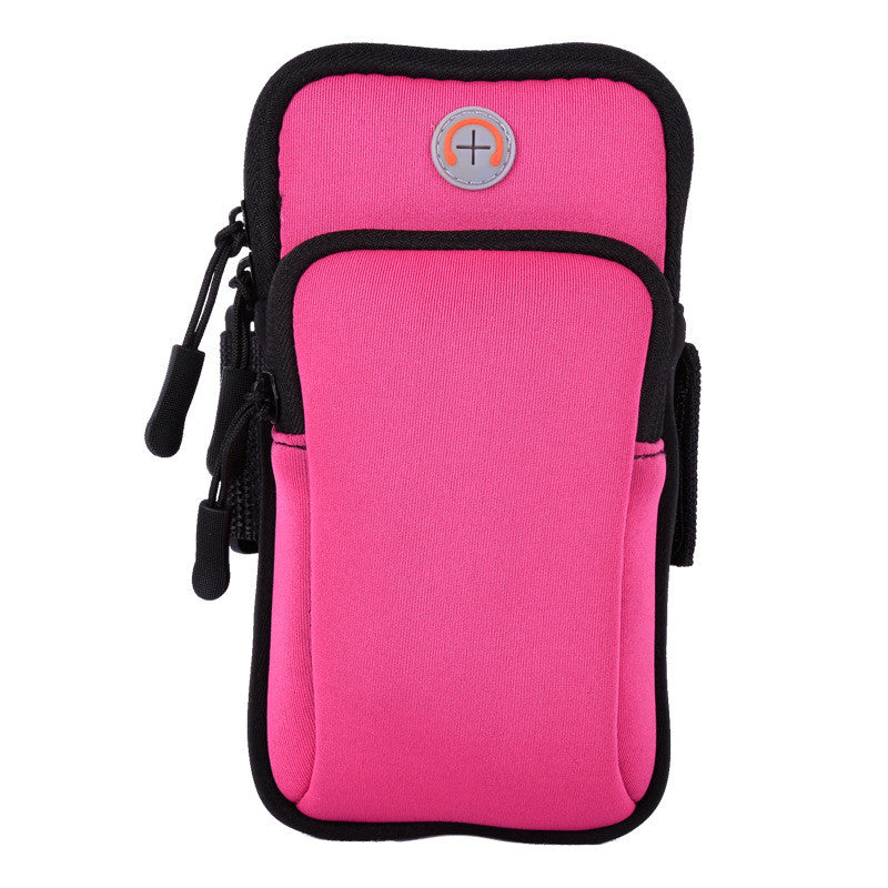 Case For Phone On Hand Universal Sports Armband Case Zippered Fitness Running Arm Band Bag 5.5