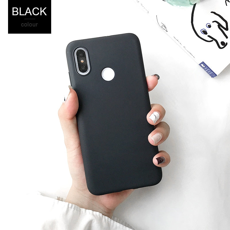 Case For Xiaomi Mi A2 8 lite A1 Mix 2s pocophone F1 Redmi 4X 4A 5 Plus 5A 6A S2 Note 4X 4 5 6 Pro 5A