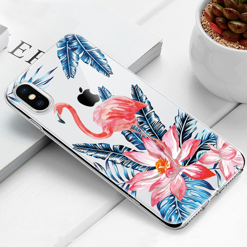 Case For iPhone X XS XS MAX XR 8 7 6 6S Plus 5 5s SE Soft TPU Silicone Back Cover For iPhone XS