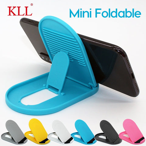 Cell Phone Stand 2 Pack Portable Foldable Desktop Phone Holder Adjustable Universal Multi-Angle