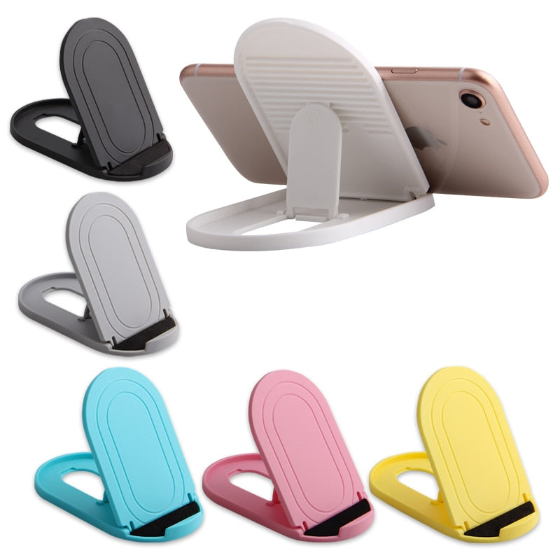 Cell Phone Stand Portable Foldable Desktop Mobile Phone Holders Adjustable Universal Multi-Angle