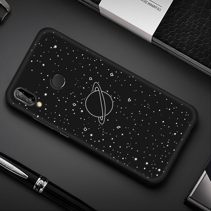 Colorful Space Printed TPU Case For Huawei P20 Lite P30 Mate 10 20 Pro P10 Lite Nova 3 4 For Honor