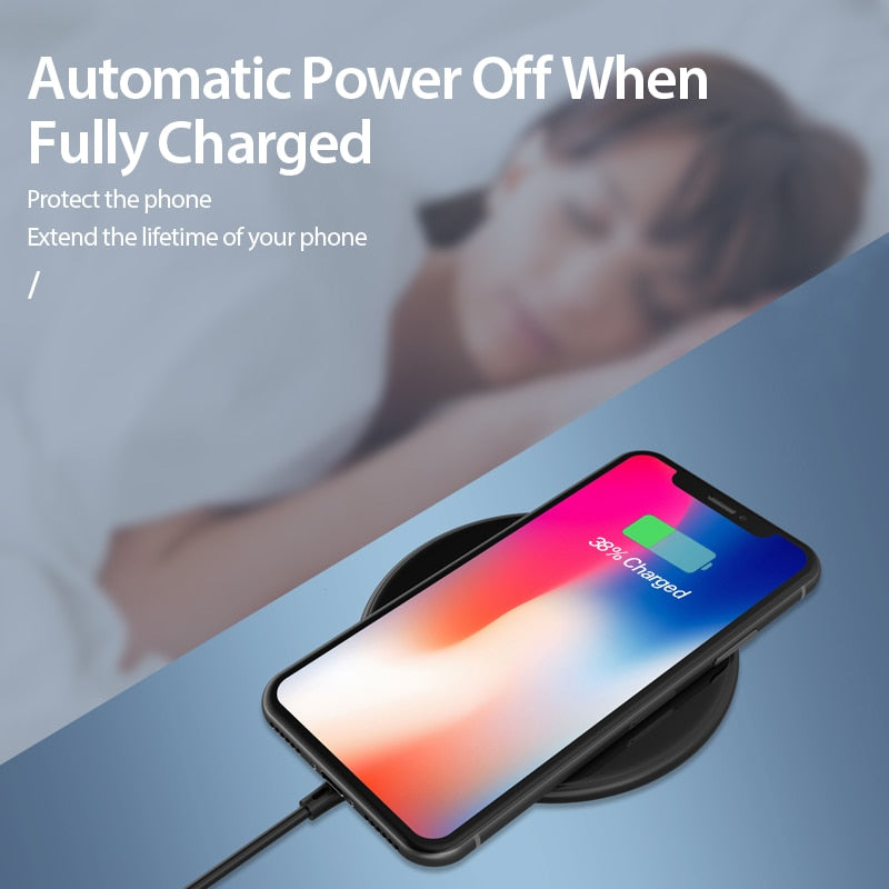 Coolreall 15W Qi Wireless Charger for Samsung S9 S10 iPhone X XS MAX XR 8 Plus for Xiaomi 9 Huawei