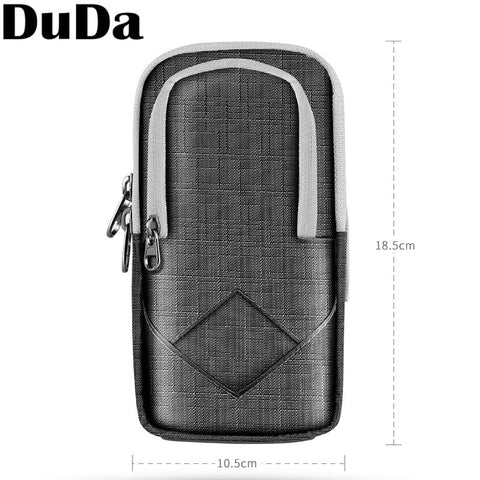 DuDa Sport Running Mobile Phone Holder Case on Hand Armband For iPhone 7 6 6s 8 plus X XS Max XR Gym