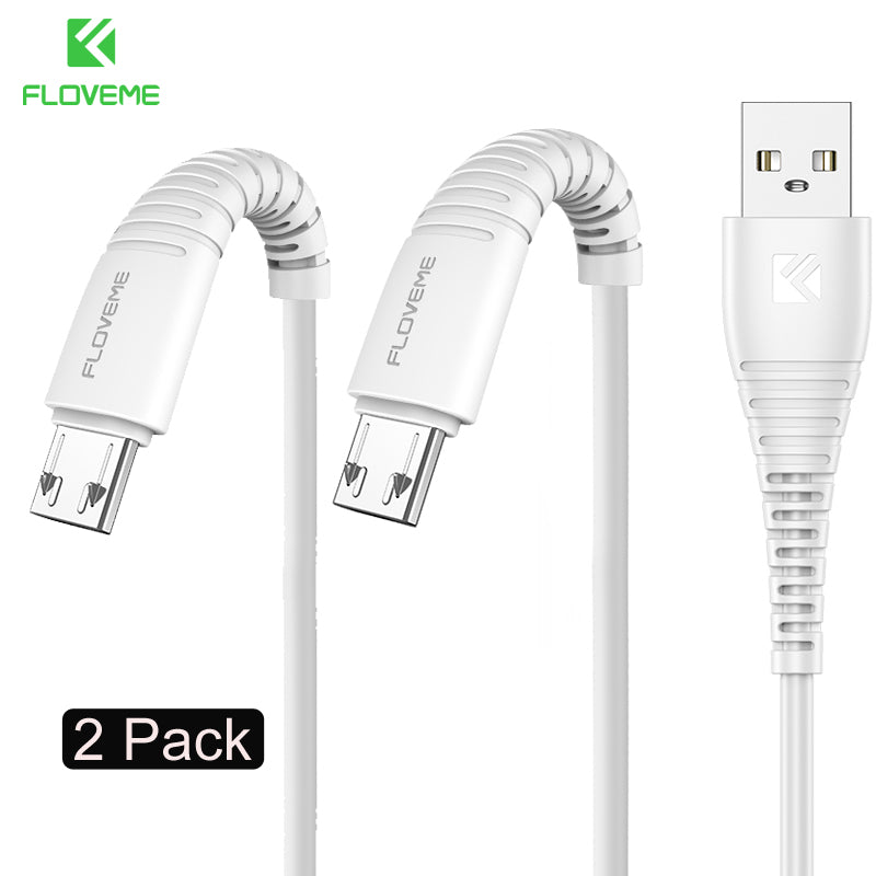 FLOVEME Micro Usb Cable 5v 2.4a Charging Data Fast Charger Cable For Samsung Xiaomi Phone Charger