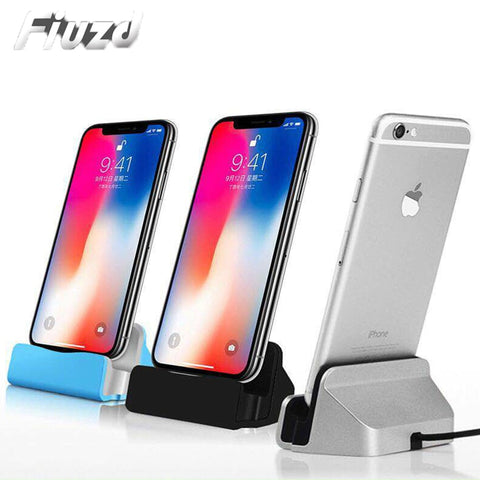Fiuzd USB Cable Data Phone iphone docking station For iPhone X XS Max XR 6 6S 7 8 Plus 5 SE