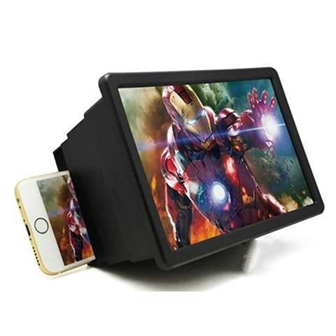 Foldable Phone Screen Magnifier Cellphone Projector Enlarged Amplifier Mobile Bracket Desktop Holder