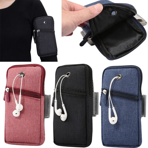For 6.5 inch Mobile Phone Arm Band Hand Holder Case Gym Outdoor Sport Running Pouch Armband Bag