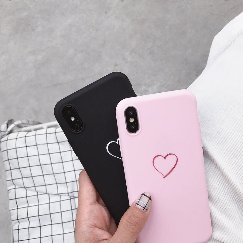 For Huawei P8 P9 P10 P20 Lite Plus P30 Pro 2017 P Smart 2019 Z Cute Love Heart Case For Huawei