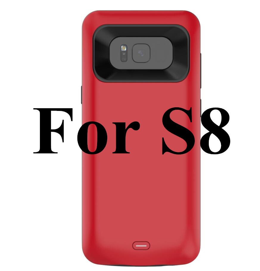 For Samsung S8 plus Battery Case 5500Mah Fashion Charger Case For Galaxy s8 Battery Case Bank For