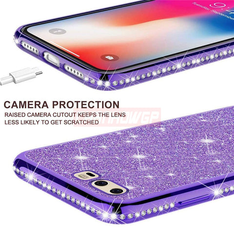 Full Bling Case For Samsung Galaxy Plus Cover Funda