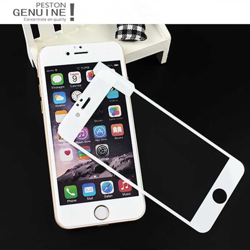 Full Cover Tempered Glass On The For iPhone 7 8 6s 5 5S Screen Protector Film For iPhone X XS Max XR
