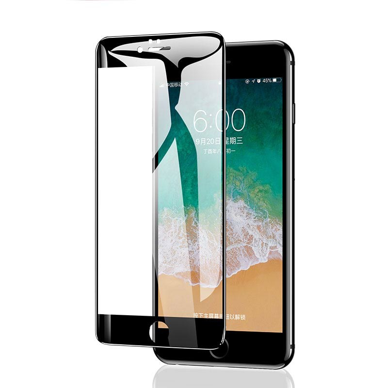 GVU 5D Full Cover Tempered Glass On The For iPhone 7 8 6 6s 5 5S SE Screen Protector For iPhone X 10