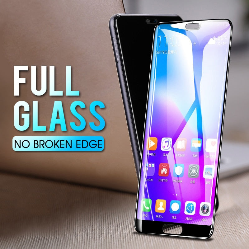 GVU 8D Full Cover Tempered Glass For Huawei P20 Lite P20 Pro Screen Protector For Huawei P20 Lite