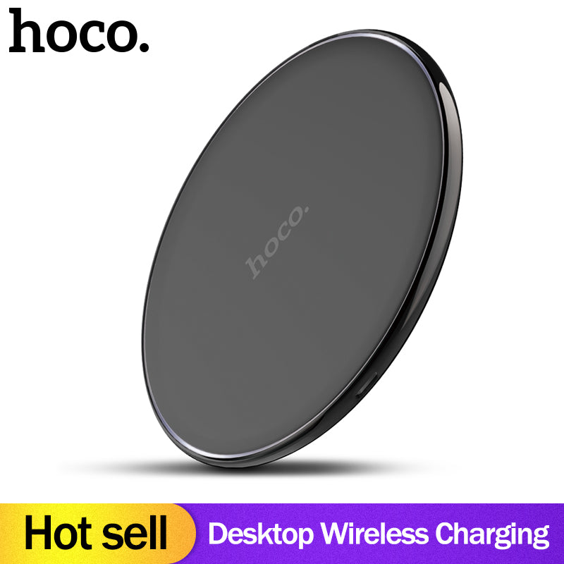 HOCO original Qi Wireless Charger Desktop Wireless Charging Pad For iPhone XR Xs Max X 8  for