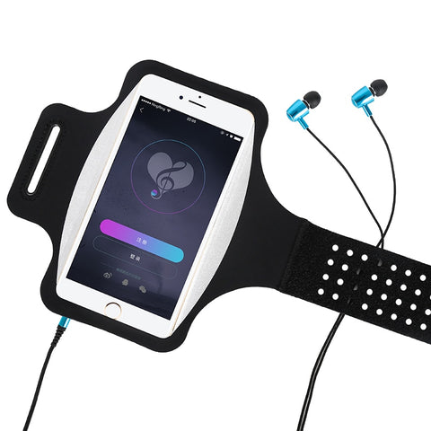 Haissky Running Sport Phone Case On Hand Armband For Samsung S10 S9 S8 iPhone X Xs Xr 6 7 8 Plus Phone