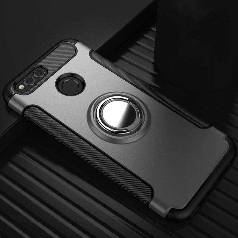 Heavy Duty Armor Case For Huawei P20 Lite P30 Pro P10 P Smart 2019 Plus Honor 8 9 10 8X 7X 8S Mate