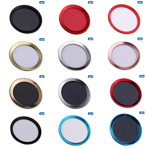 Home Button Sticker Protector Keypad Keycap For IPhone 5s 5 SE 4 6 6s 7 Plus Support Fingerprint