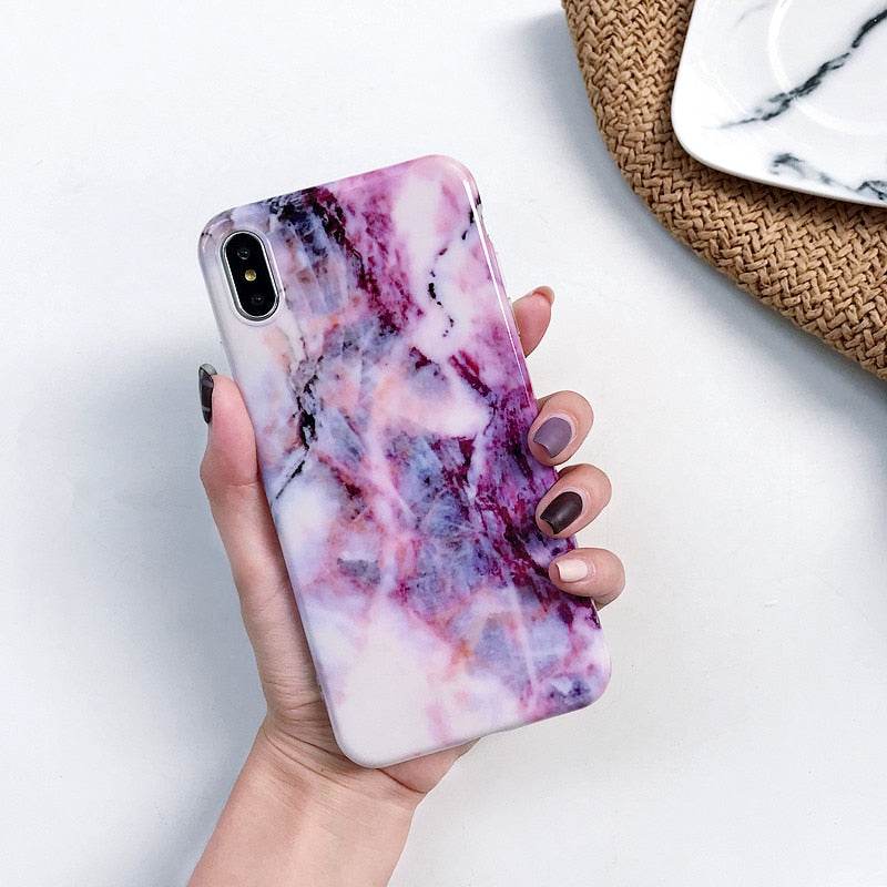 Huawei P20 Lite Case Marble Silicon Soft TPU Back Cover on for Huawei P20 Lite P30 Pro P 30 Mate