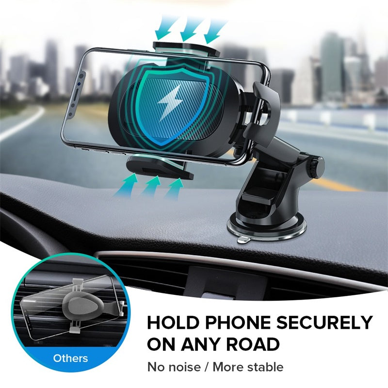 INIU Sucker Car Phone Holder in Car Clip Air Vent Mount No Magnetic Cell Stand Support Mobile