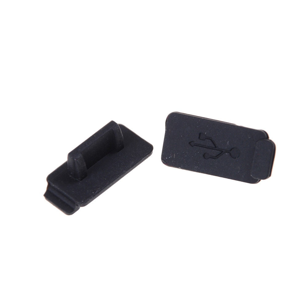 JINHF Durable Soft Dust Cap USB 2.0 3.0 Interface Prevent Rust Dust Plug  PC Laptop USB Plug Cover