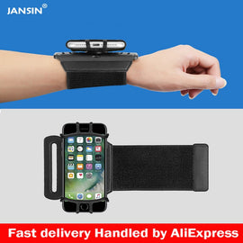 Jansin Sports Armband Case for iPhone X XS XR 8 7 8 Plus 7 Plus Wrist Running Sport Arm Band Bag