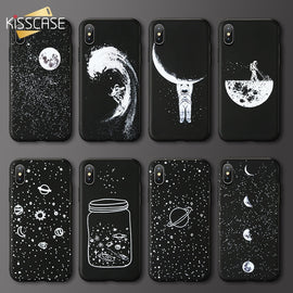KISSCASE Star Moon Phone Case Plus Dog Cat Case