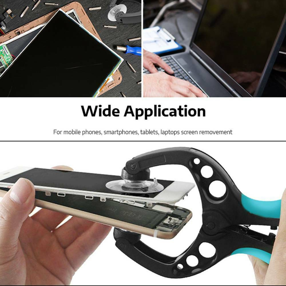 LCD Screen Double Suction Cup Opening Plier Repair Tool for Mobile Phone Screen separation suction